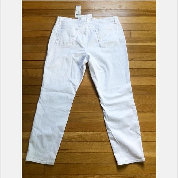 72ab192e4 Eileen Fisher Jeans   Skinny Bright White Denim Ankle   Poshmark